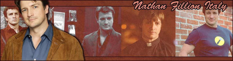 Nathan Fillion Italy